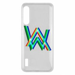 Чохол для Xiaomi Mi A3 Alan Walker multicolored logo
