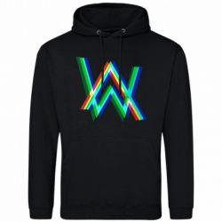 Чоловіча толстовка Alan Walker multicolored logo