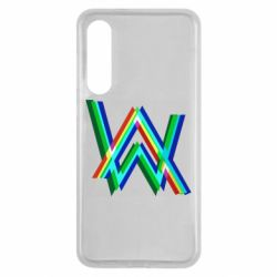 Чехол для Xiaomi Mi9 SE Alan Walker multicolored logo