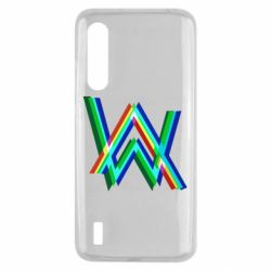 Чехол для Xiaomi Mi9 Lite Alan Walker multicolored logo