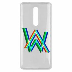 Чехол для Xiaomi Mi9T Alan Walker multicolored logo