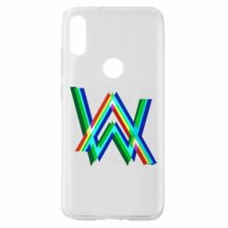 Чехол для Xiaomi Mi Play Alan Walker multicolored logo