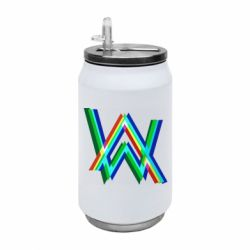 Термобанка 350ml Alan Walker multicolored logo