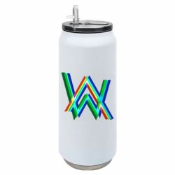 Термобанка 500ml Alan Walker multicolored logo