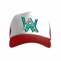Дитяча кепка-тракер Alan Walker multicolored logo