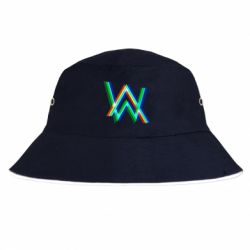 Панама Alan Walker multicolored logo