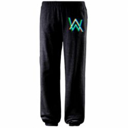 Штаны Alan Walker multicolored logo