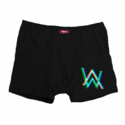 Мужские трусы Alan Walker multicolored logo