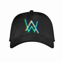 Детская кепка Alan Walker multicolored logo