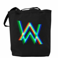 Сумка Alan Walker multicolored logo