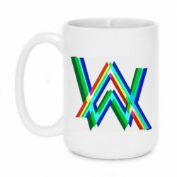 Кружка 420ml Alan Walker multicolored logo