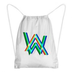 Рюкзак-мешок Alan Walker multicolored logo