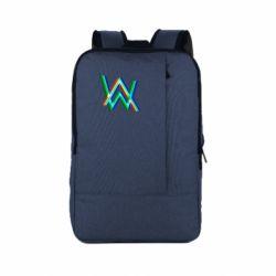 Рюкзак для ноутбука Alan Walker multicolored logo