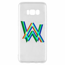Чехол для Samsung S8 Alan Walker multicolored logo