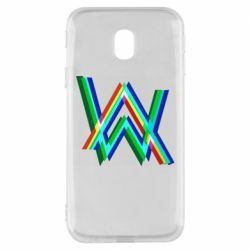 Чехол для Samsung J3 2017 Alan Walker multicolored logo