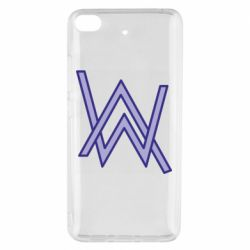 Чехол для Xiaomi Mi 5s Alan Walker neon logo