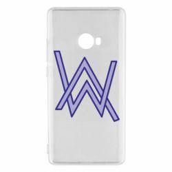 Чехол для Xiaomi Mi Note 2 Alan Walker neon logo