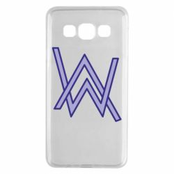 Чехол для Samsung A3 2015 Alan Walker neon logo