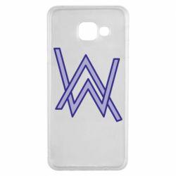 Чехол для Samsung A3 2016 Alan Walker neon logo