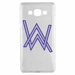 Чехол для Samsung A5 2015 Alan Walker neon logo