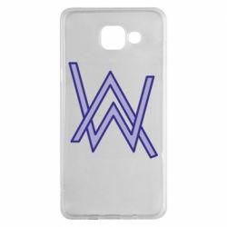 Чехол для Samsung A5 2016 Alan Walker neon logo