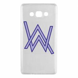 Чехол для Samsung A7 2015 Alan Walker neon logo
