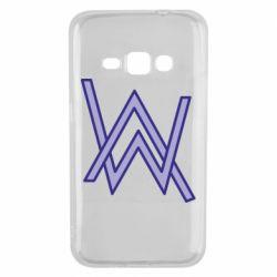 Чехол для Samsung J1 2016 Alan Walker neon logo