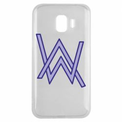 Чехол для Samsung J2 2018 Alan Walker neon logo