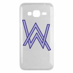Чехол для Samsung J3 2016 Alan Walker neon logo