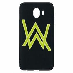 Чехол для Samsung J4 Alan Walker neon logo