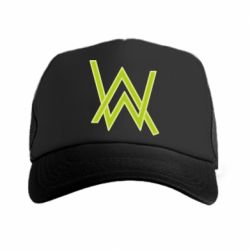 Кепка-тракер Alan Walker neon logo