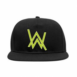Снепбек Alan Walker neon logo