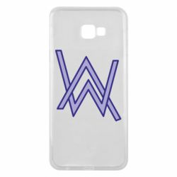 Чехол для Samsung J4 Plus 2018 Alan Walker neon logo