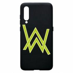 Чехол для Xiaomi Mi9 Alan Walker neon logo