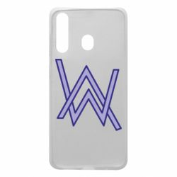 Чехол для Samsung A60 Alan Walker neon logo