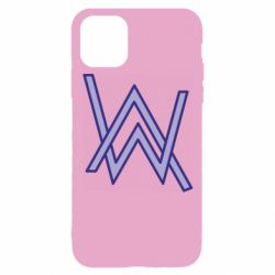 Чехол для iPhone 11 Pro Alan Walker neon logo