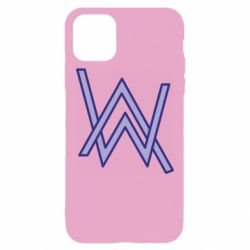 Чехол для iPhone 11 Pro Max Alan Walker neon logo