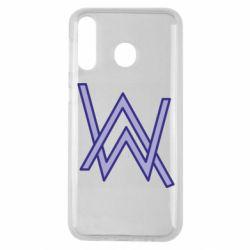 Чехол для Samsung M30 Alan Walker neon logo