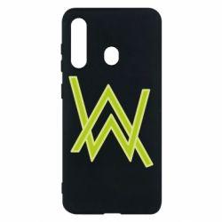 Чехол для Samsung M40 Alan Walker neon logo