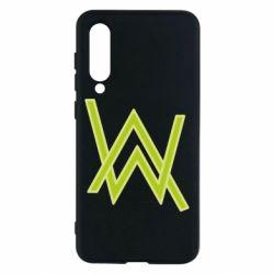 Чехол для Xiaomi Mi9 SE Alan Walker neon logo