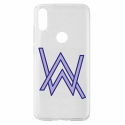 Чехол для Xiaomi Mi Play Alan Walker neon logo