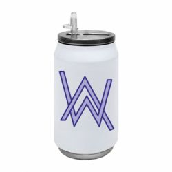 Термобанка 350ml Alan Walker neon logo