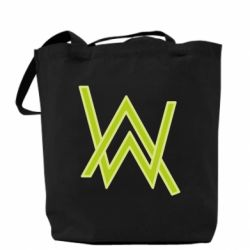 Сумка Alan Walker neon logo