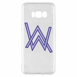 Чехол для Samsung S8 Alan Walker neon logo