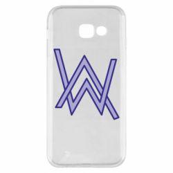 Чехол для Samsung A5 2017 Alan Walker neon logo