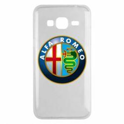 Чехол для Samsung J3 2016 ALFA ROMEO
