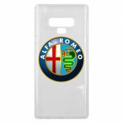 Чехол для Samsung Note 9 ALFA ROMEO