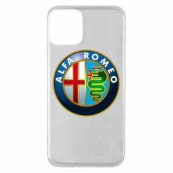 Чехол для iPhone 11 ALFA ROMEO