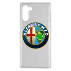 Чехол для Samsung Note 10 ALFA ROMEO