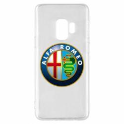 Чехол для Samsung S9 ALFA ROMEO